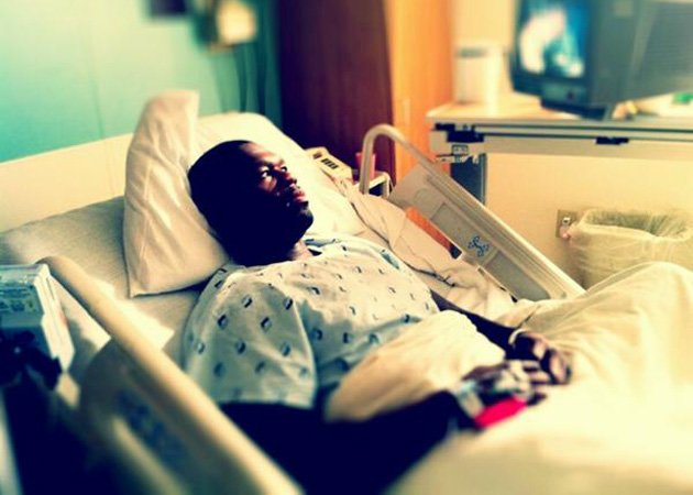 50 Cent, hospital
