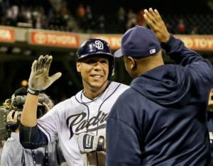 Padres score 3 in 9th, beat Phillies 4-3 in 10