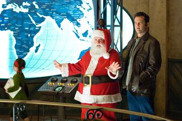 Paul Giamatti and Vince Vaughn in Warner Bros. Pictures' Fred Claus