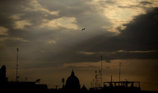 <p>The Vatican, whose skyline is pictured, on Wednesday promised to redouble efforts against money laundering as it fights off a dark history after a Council of Europe report hailed recent progress but urged tighter controls.</p>