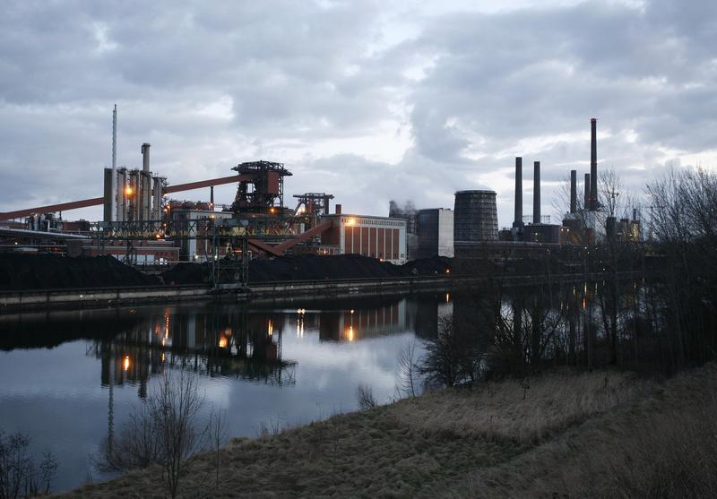 General view of a factory of steel manufacturer Salzgitter AG in Salzgitter
