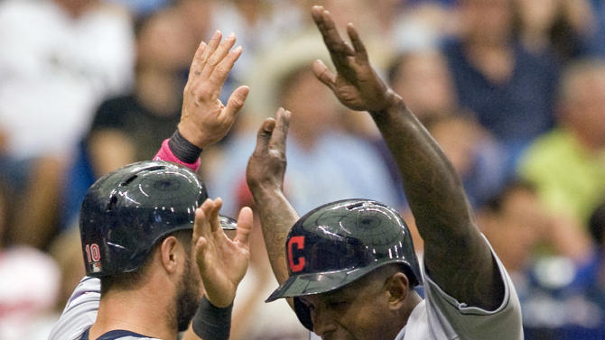 Tomlin, Morgan key Indians' 6-5 win over Rays