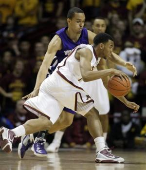 Minnesota cruises past Northwestern 75-52