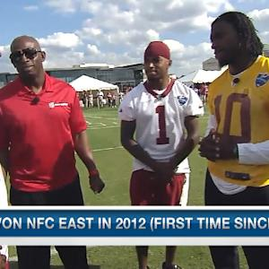 Washington Redskins wide receiver DeSean Jackson on Pierre Garcon: 'He a beast'