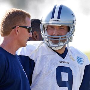 Dallas Cowboys head coach Jason Garrett and quarterback Tony Romo are focused on week one