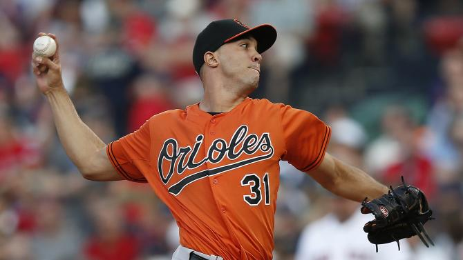 Orioles place RHP Jimenez on DL with ankle sprain