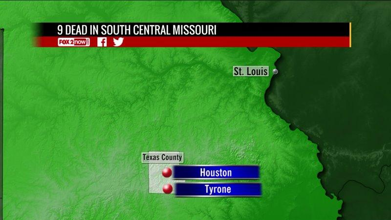 Police: 7 fatally shot, gunman dead in southeastern Missouri