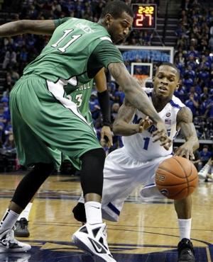 Barton has 29, leads Memphis past Marshall 83-76