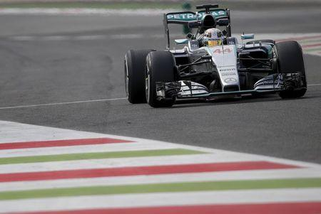 Hamilton fastest as Mercedes have a blast at Monza