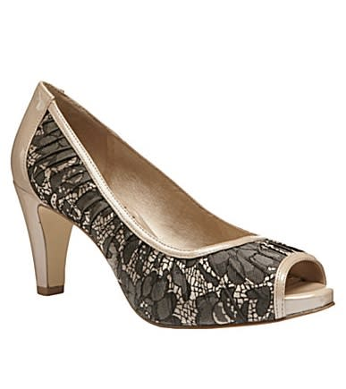 Affordable alternative: Alex Marie Lace Peep-Toe Pumps, $69.99