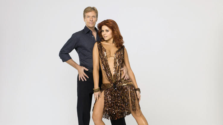 "Jack Wagner teams with professional dancer Anna Trebunskaya on Season 14 of ""Dancing With the Stars."""