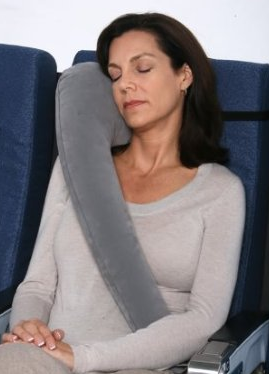TravelRest - The Ultimate Inflatable Travel Pillow and Neck Pillow, REINVENTED!!