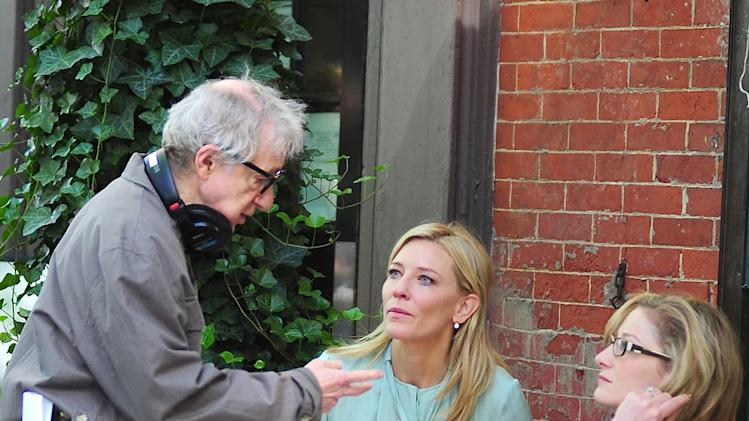 Spotted on Set, Woody Allen and Cate Blanchett