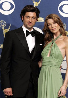 Presenters Patrick Dempsey and Ellen Pompeo