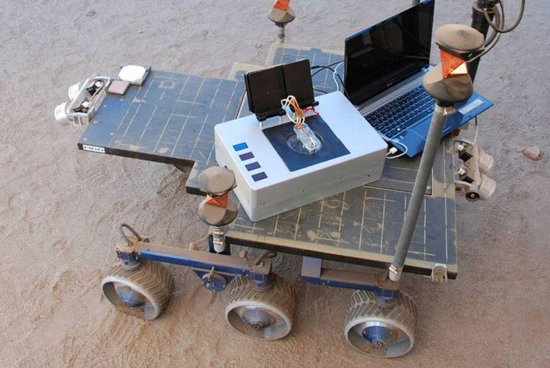NASA's 'Chemical Laptop' could help future rovers find life on alien planets