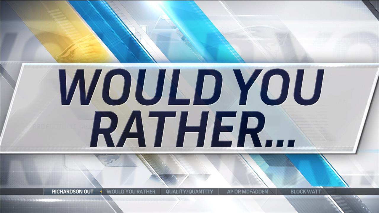 Would you rather block Watt or be a Redskins QB?