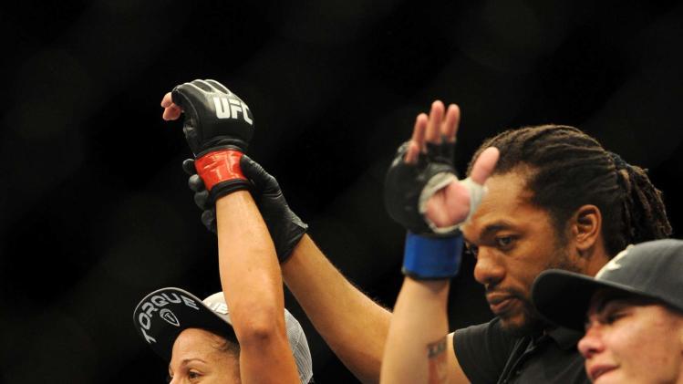 MMA: UFC on FOX 8-Carmouche-Andrade