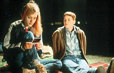 Chloe Sevigny as Lana and Hilary Swank as Brandon Teena in Fox Searchlight's Boys Don't Cry