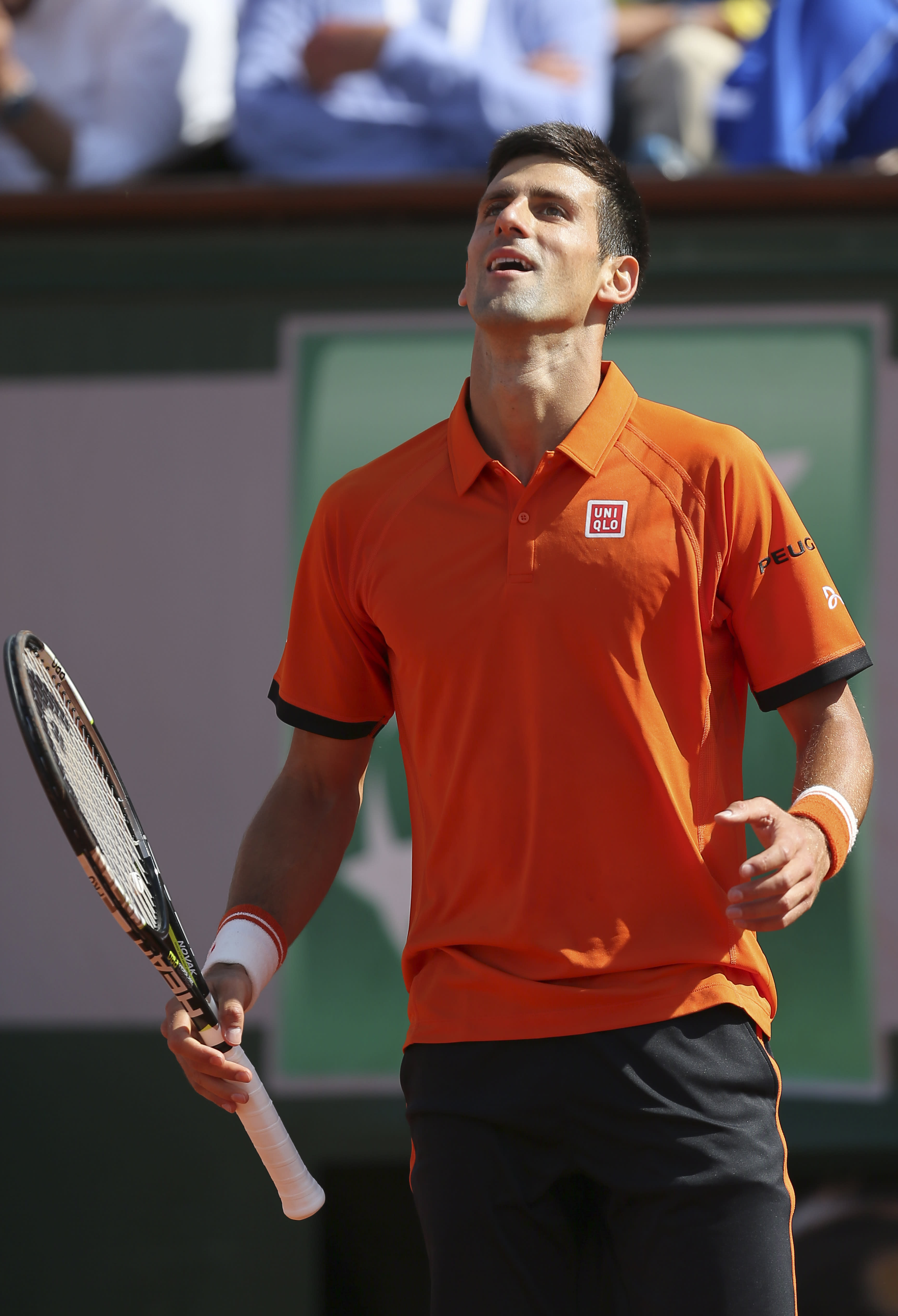 The Latest: Djokovic takes second set against Nadal