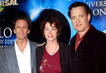 Producer Brian Grazer, Kathleen Quinlan and Tom Hanks Apollo 13 Anniversary Edition DVD - Screening/Q&A California Science Center - Los Angeles, CA - 3/22/05