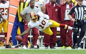 Luck, Griffin impress; Redskins top Colts 30-17