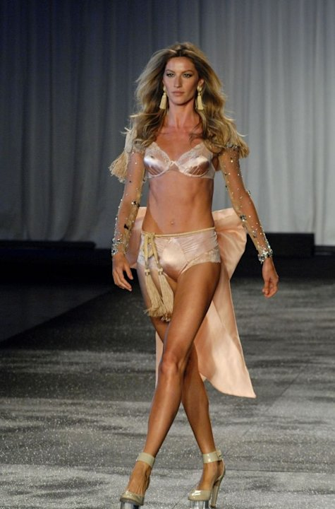 Brazilian top model Gisele Bundchen