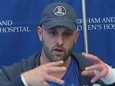 Carpenter 'Engulfed' During Boston Marathon Bombing