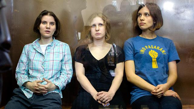 Anti-Putin Band Pussy Riot Found Guilty in Russian Court, Handed 2-Year Sentence
