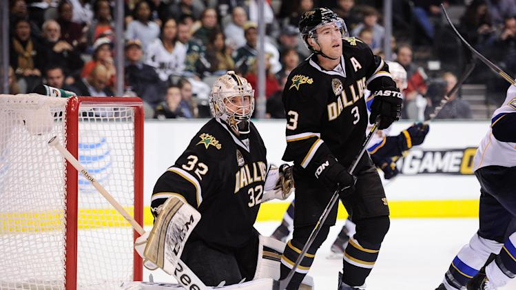 NHL: St. Louis Blues at Dallas Stars
