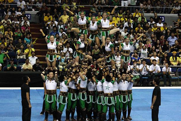 UAAP Season 74 Cheerdance Competition