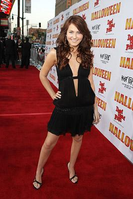 Scout Taylor-Compton at the Hollywood premiere of MGM/Dimension Films' Halloween