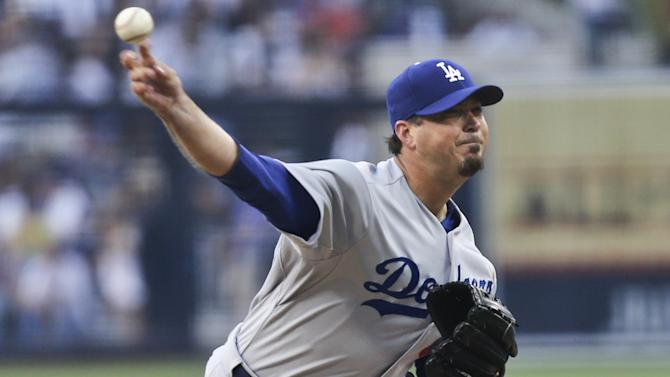 Beckett tosses gem in Dodgers' 4-2 win over Padres