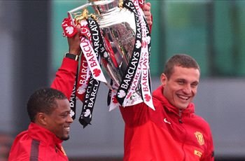 Vidic hails Manchester United's team spirit after winning title off City
