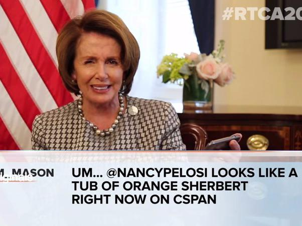 Congressional leaders awkwardly read mean tweets about themselves