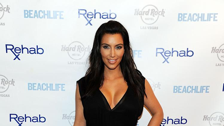 Kim Kardashian Hosts Hard Rock Hotel's Hottest Party - Rehab Sundays