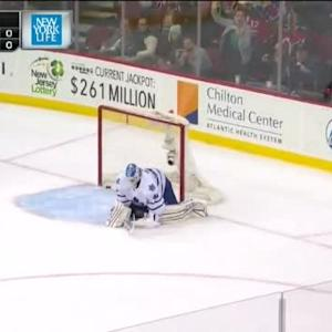 Jacob Josefson Goal on Jonathan Bernier (00:00/SO)