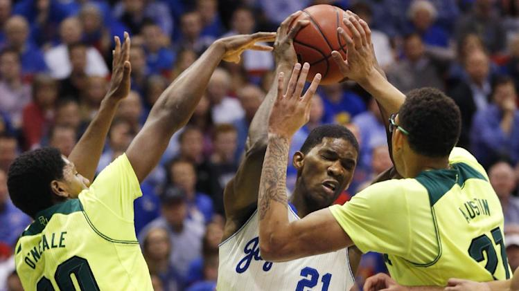 Wiggins leads No. 8 KU past No. 24 Baylor, 78-68