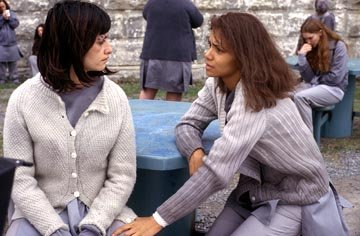 Penelope Cruz and Halle Berry in Warner Bros. Gothika