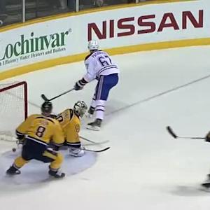 Pacioretty dekes past Mazanec to score