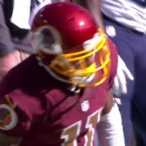 Washington Redskins quarterback Kirk Cousins to wide receiver DeSean Jackson for 37 yards