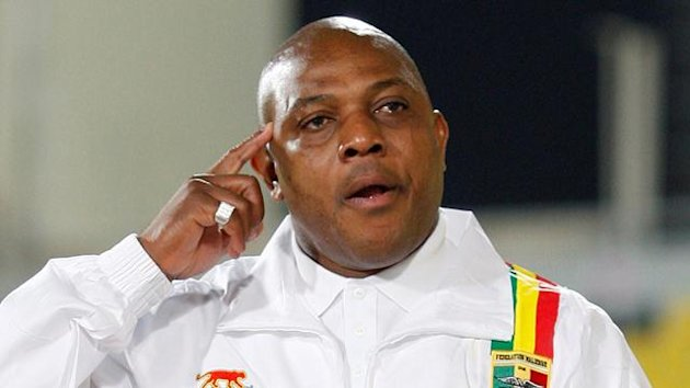 FOOTBALL African Cup of Nations, Mali coach Stephen Keshi