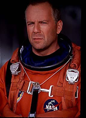 Bruce Willis, en Armageddon