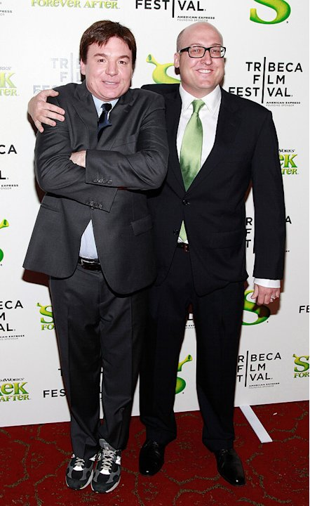 9th Annual Tribeca Film Festival Shrek Forever After Premiere 2010 Mike Myers Mike Mitchell