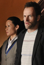 Lucy Liu, Jonny Lee Miller | Photo Credits: Jeffrey Neira /CBS