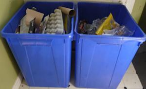 Create a home recycling center