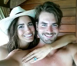 PICTURE: See Louise Roe's Engagement Ring!