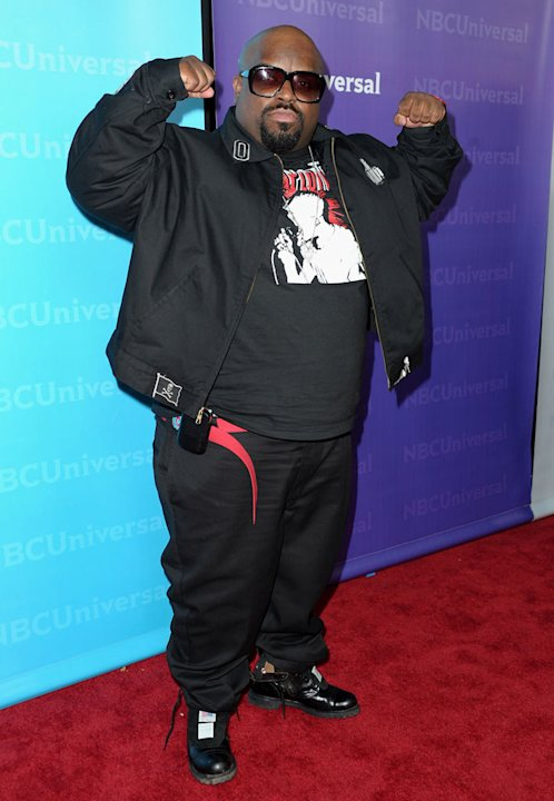 "Cee Lo Green (""The Voice"") attends the 2012 NBC Universal Winter TCA All-Star Party at The Athenaeum on January 6, 2012 in Pasadena, California."