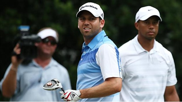 Golf - Garcia will shake Woods' hand