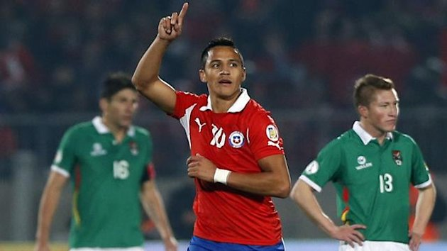 Chilean forward Alexis Sanchez (Reuters)