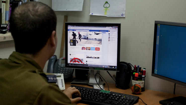 Israel and Hamas battle on social media as well